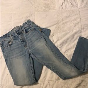 American Eagle Light Blue Skinny Jeans
